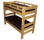 Platinum Twin Over Full Bunk Bed
