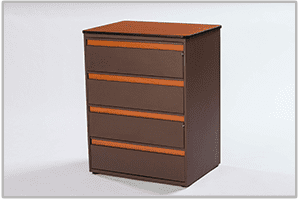 Platinum 4-Drawer Chest