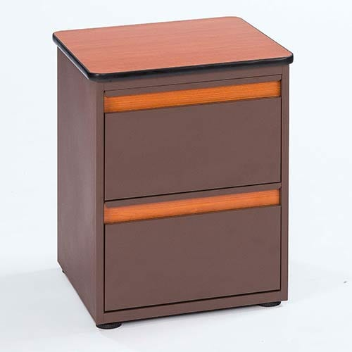 Platinum 2-Drawer Nightstand