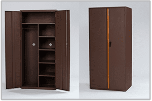 Platinum Double Wardrobe