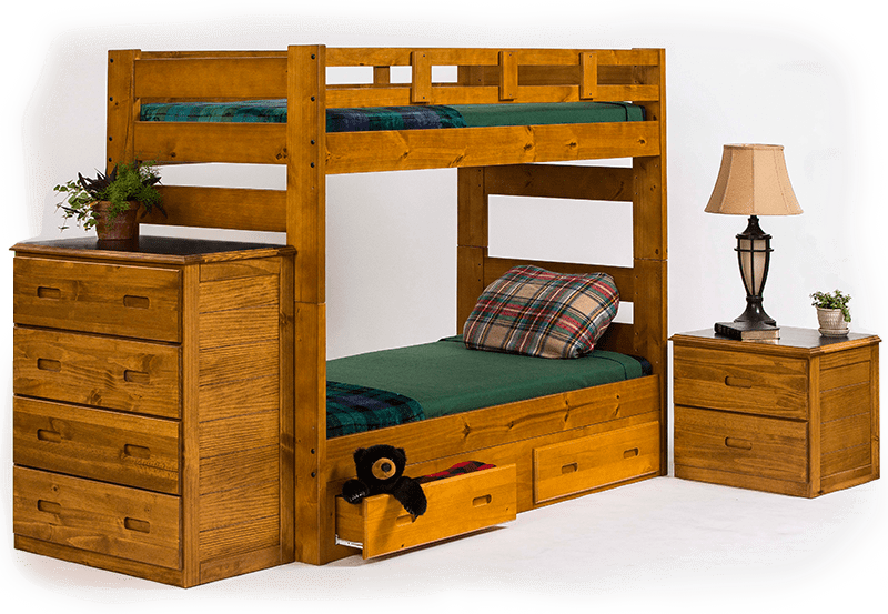 Crafted Camp Bunk Beds and Wooden Furniture