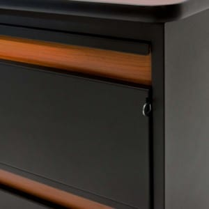 4500 series 4-drawer chest with locking system