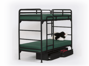 4500 bunk bed with underbed storage chests