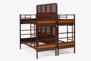 platinum partition bed - two bunk beds side by side with divider