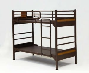 Platinum Solid Panel Bunk Bed without mattresses