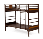 platinum solid panel bunk bed
